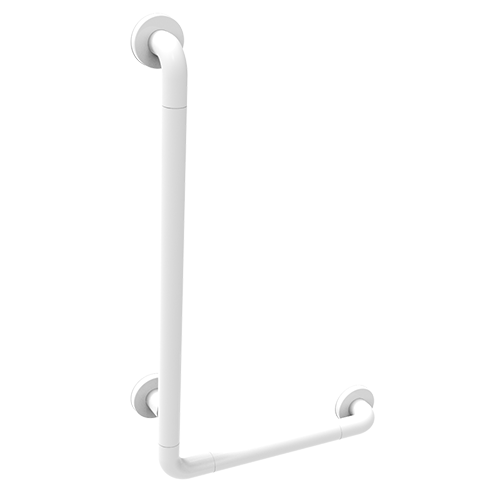 safety handle with right/left lateral vertical rod