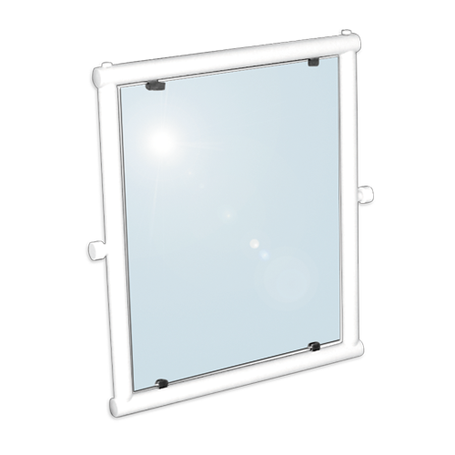 adjustable tilting mirror