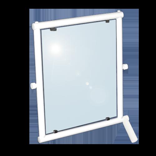 Kippspiegel mit Handgriff