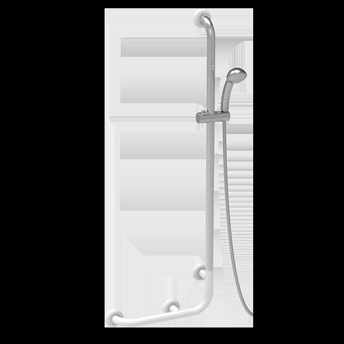Duschhandlauf Edelstahl 304 mit Handbrause