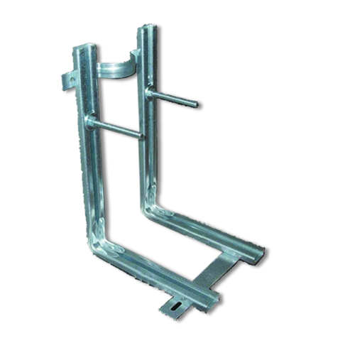 build in support frame for hanging WC