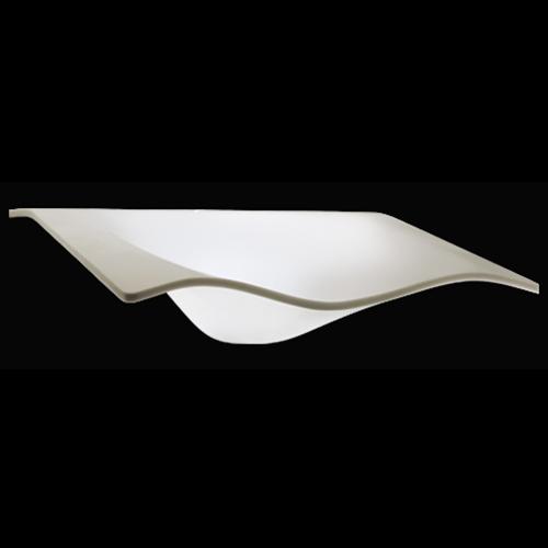 white translucent sink washbasin Flight