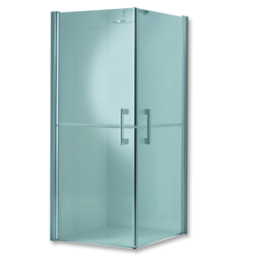 shower box, crystal 6 mm, 80x80 H100