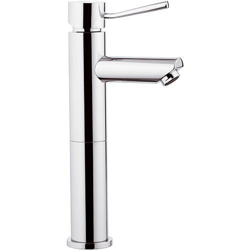 HIGH CHROME SINGLE LEVER BASIN MIXER WITH