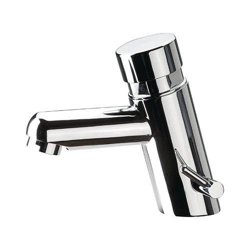 SELF CLOSING MIXER FOR WASHBASIN