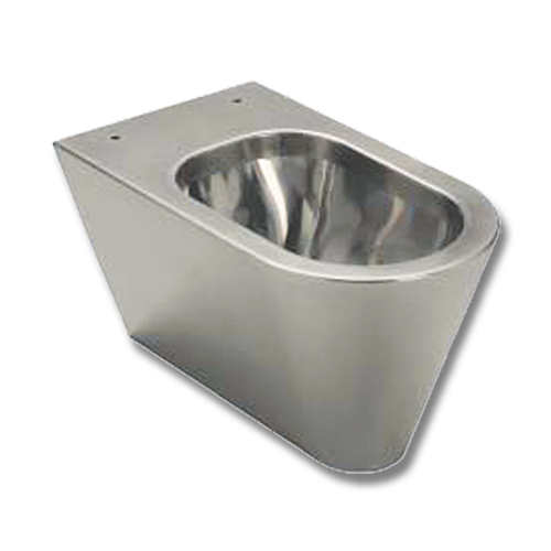suspended stainless steel WC cm.59,5 with seat