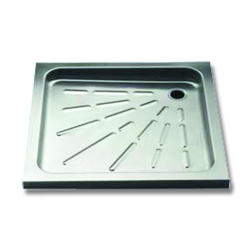 stainless steel shower base cm.90x90