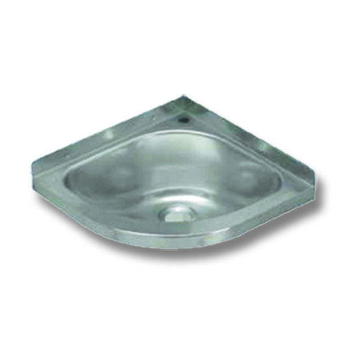 stainless steel corner wash basin