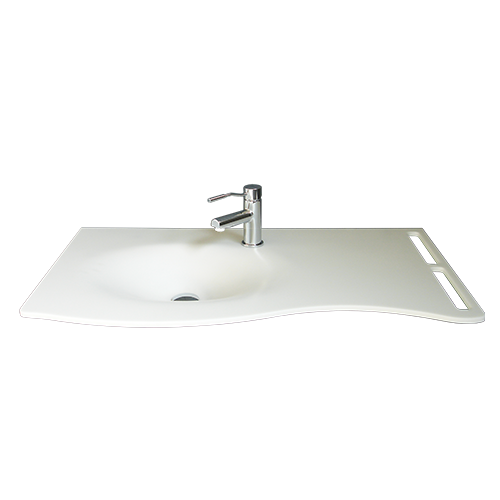 Lavabo blanco Flat Joy