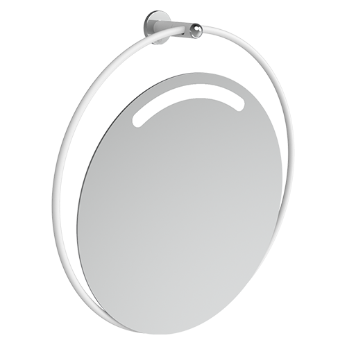 adjustable tilting mirror WITH LIGHT Series GIOTTO