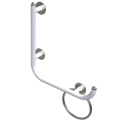 safety handle with vertical rod GIOTTO CM.51,5X51,5 RIGHT