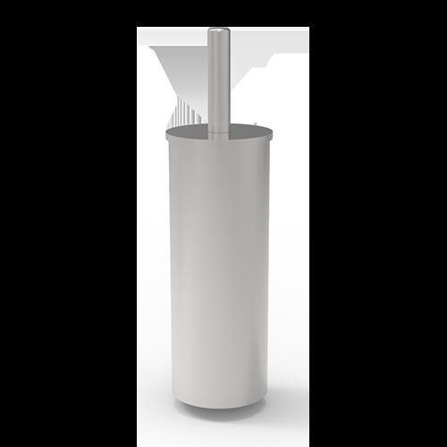 FLOOR TOILET BRUSH IN STAINLESS STEEL