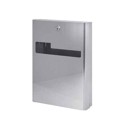 WC TISSUE DISPENSER IN POLISHED STAINLESS STEEL