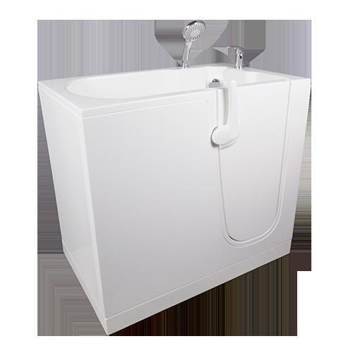 bañera Oasi cm. 106 puerta derecha