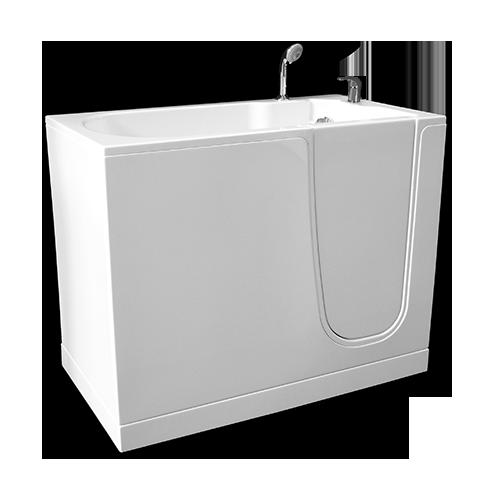bañera Oasi cm. 120 puerta derecha