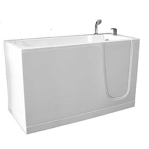 bañera Oasi cm. 140 puerta derecha