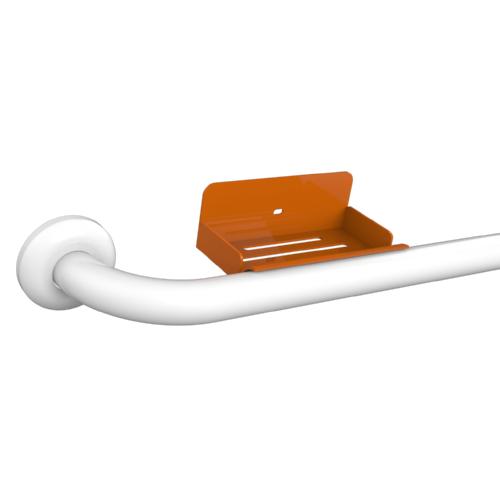 ALUMINUM SOAP HOLDER FOR HANDLES