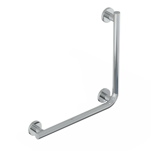 safety handle with vertical rod SERIES LEONARDO DELUXE INOX CROMO