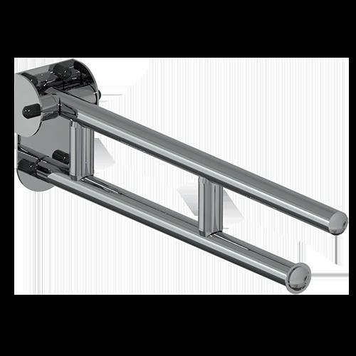 barre basculante CM.60 série LEONARDO DELUXE INOX CROMO