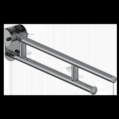 barre basculante CM.75 série LEONARDO DELUXE INOX CROMO