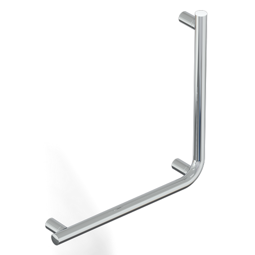 safety handle with vertical rod SERIES MIA INOX CROMO