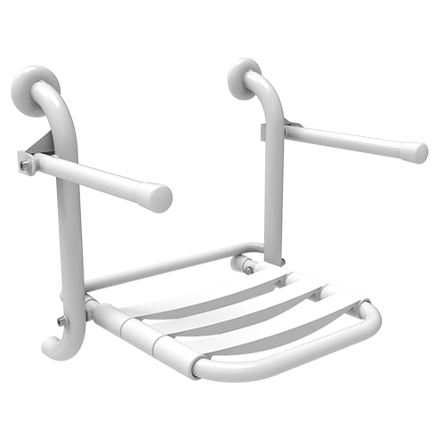 folding seat with PPL staves and folding arms