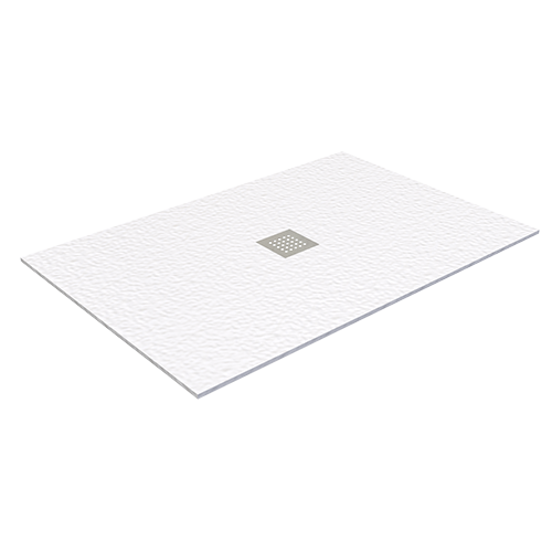 WHITE POLITEK SHOWER TRAY