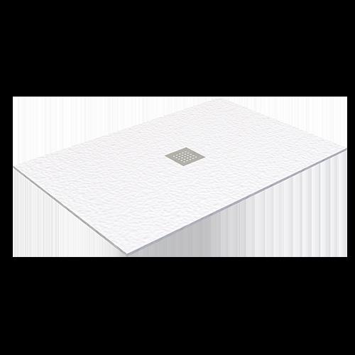 Piatto doccia in politek bianco senza piletta