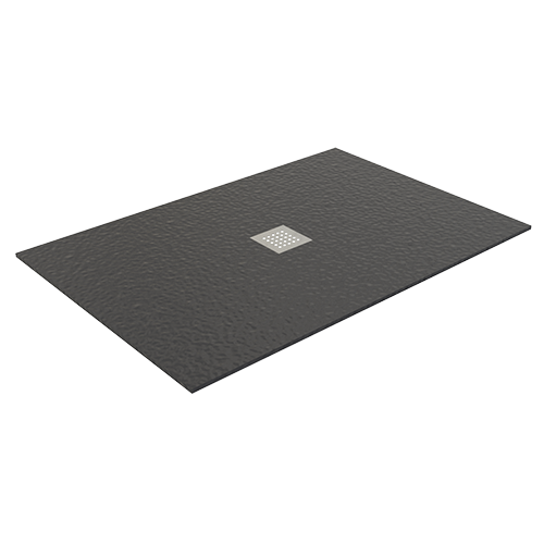 ANTHRACITE POLITEK SHOWER TRAY