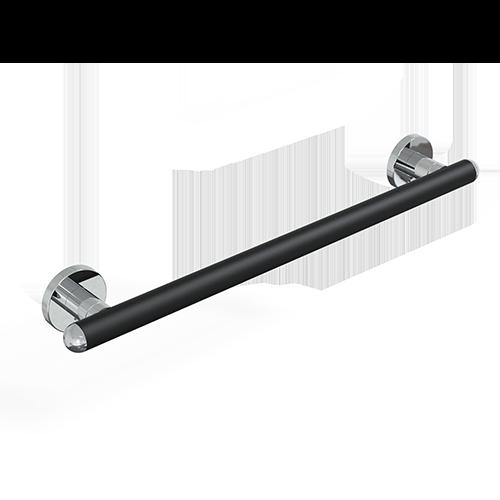 Maniglione cm.63 serie raffaello color nero op./cromo