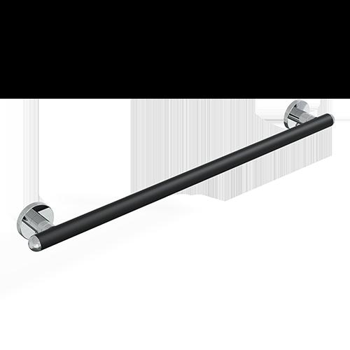 Maniglione cm.83 serie raffaello color nero op./cromo