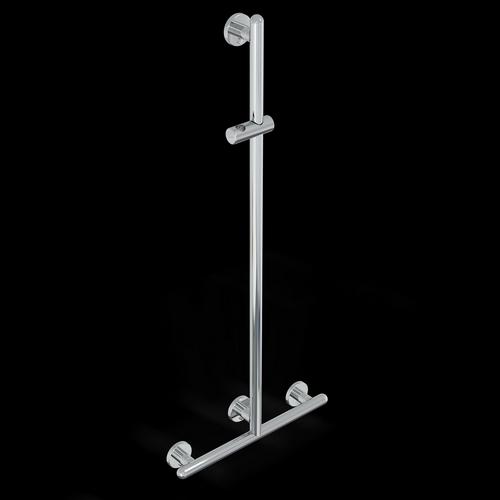 Barres de douche avec douchette s rie raffaello 32mm - Support douchette pour barre ...