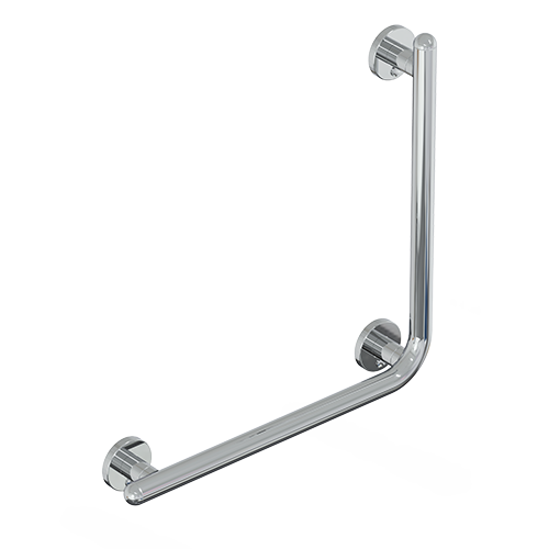 safety handle with vertical rod SERIES RAFFAELLO INOX CROMO