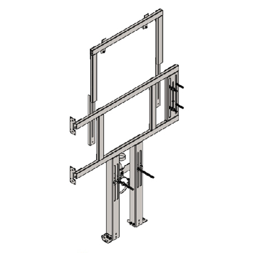 BRACKET FOR SUSPENDED WC AND R/L FOLDING BAR AND UNIVERSAL WC-FLUSHING TANK FOR PLASTERBOARD WALLS