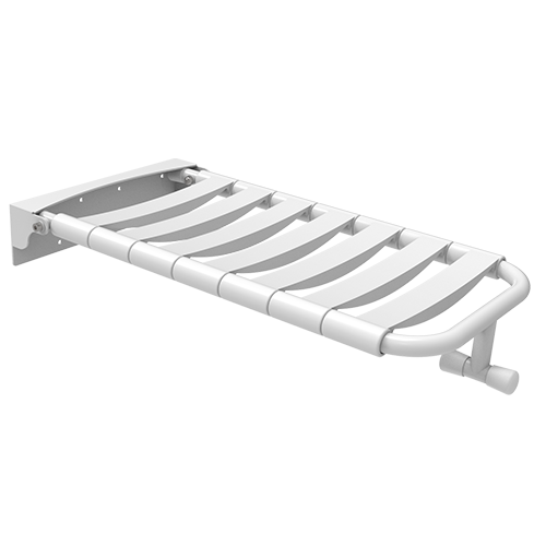 folding seat for standard bathtub with PPL staves