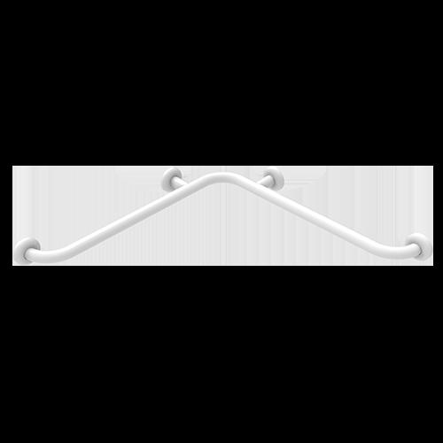ANTIBACTERIAL WHITE STAINLESS STEEL CORNER HANDLE