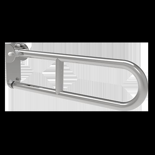 barre basculante cm60, plaque de support longue, avec friction