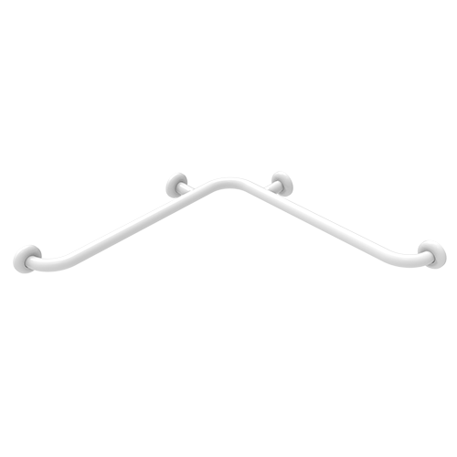 safety corner handrail cm.70x70 white