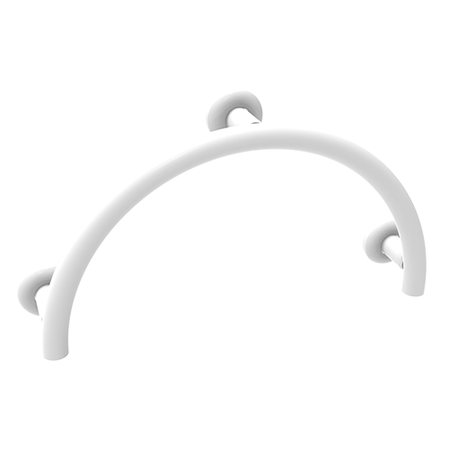 safety handle for bathtub - white