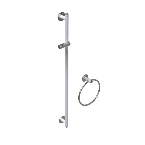 Support shower rails, Giotto series - Ø32mm