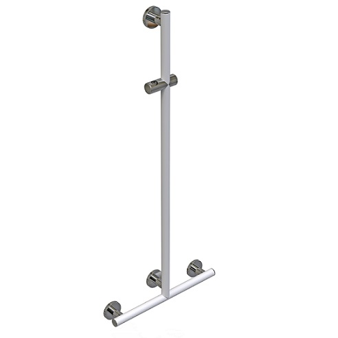 Support shower rails, Série Leonardo Deluxe - Ø32mm