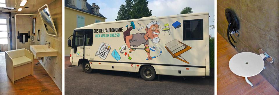 """Da oggi Goman viaggia sul """"Bus dell'autonomia"""""""