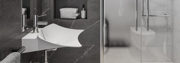 Shine: la nouvelle vasque suspendue accessible