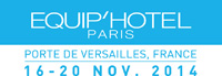 From 16 to 20 November 2014, Goman Srl will participate to the fair Equip'Hotel