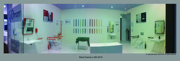 Goman a ISH 2015 - HALL 3.0  STAND E58B