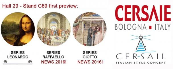 Goman will introduce two new series of articles at Cersaie 2016!