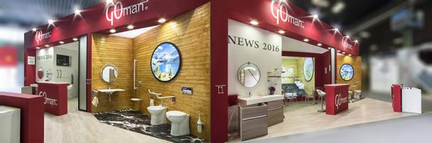 GREAT SUCCESS OF GOMAN NOVELTIES DURING CERSAIE 2016 FAIR!