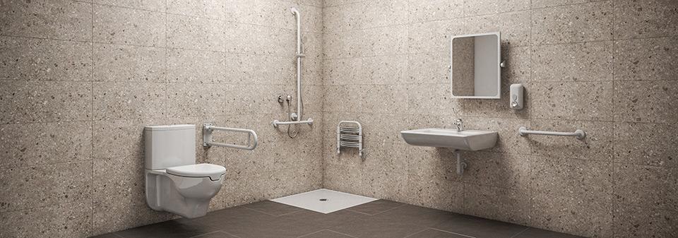 Salle de bain conforme