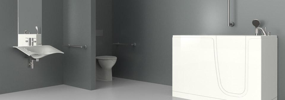 Contributi vasca con porta bagni disabili e anziani a brescia - Porta bagno disabili ...