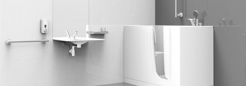 Ristrutturare bagno disabili e anziani Milano